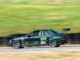 E36 M3 racing at VIR
