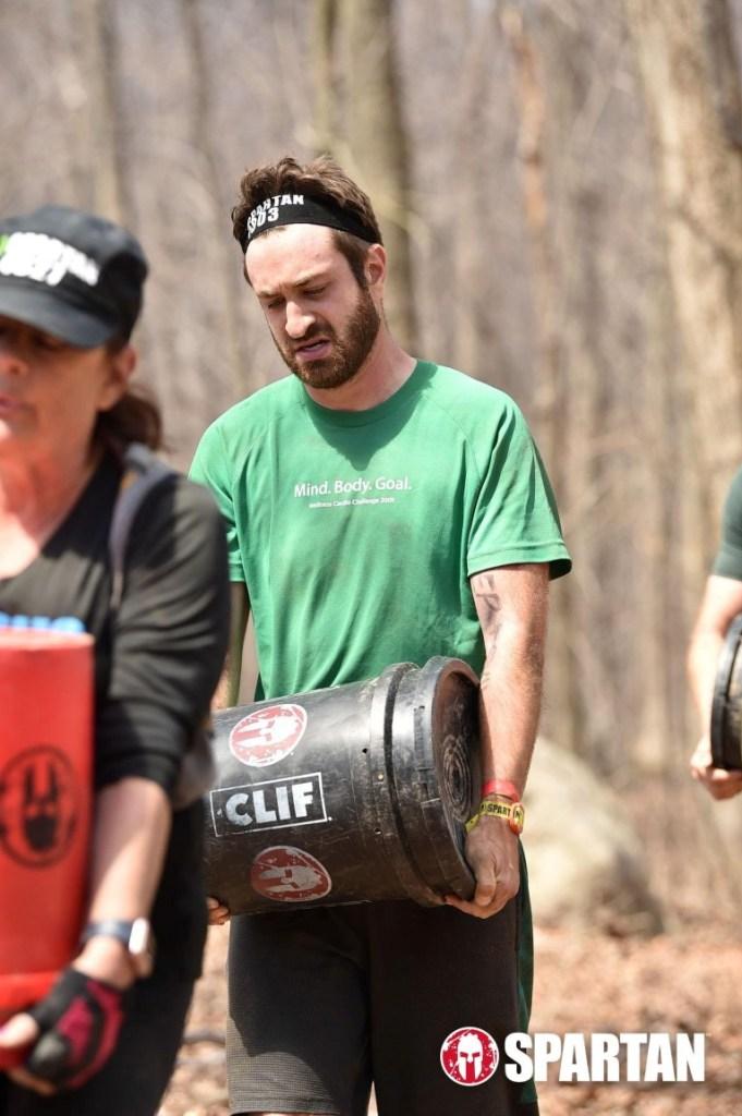 Spartan Race bucket carry
