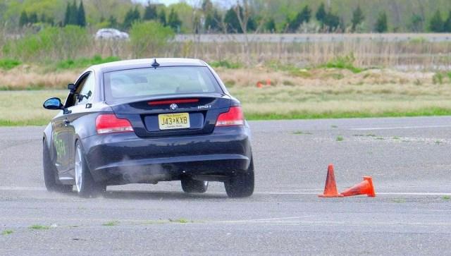 BMW 128i rear at autocross