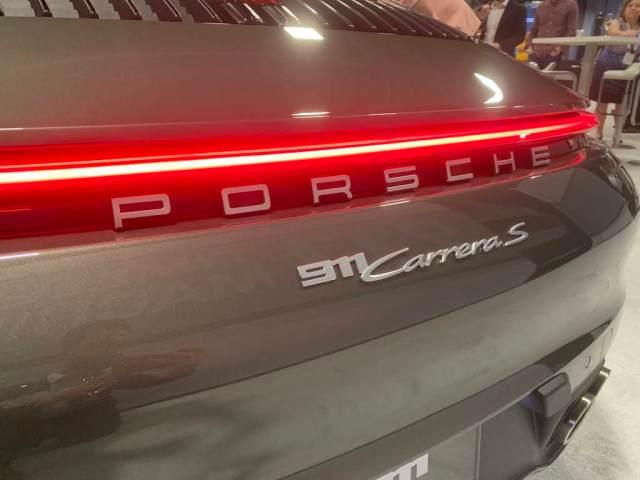 2020 Porsche 911 rear end