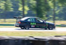 1997 BMW E36 M3 racing at VIR