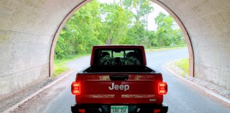 Jeep Gladiator rear