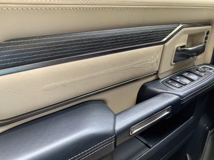 2019 Ram 2500 Limited door panel