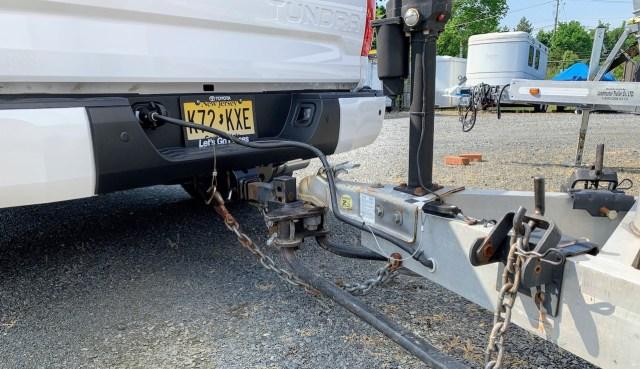 2019 Toyota Tundra trailer hookup