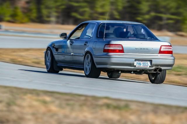 Acura Vigor track day at NCCAR