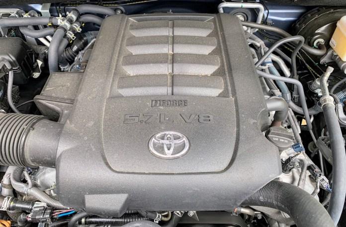 2019 Toyota Sequoia 5.7L V8 engine