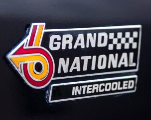 1987 Buick Grand National fender badge