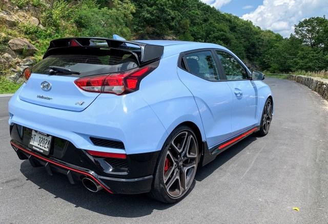 2019 Hyundai Veloster N Skyline Drive