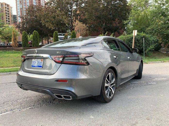 2019 Nissan Maxima SV rear