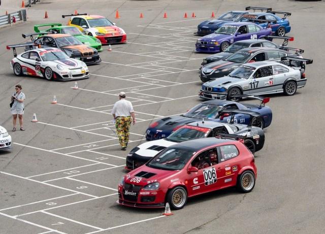 NASA Great Lakes Pitt Race grid before race