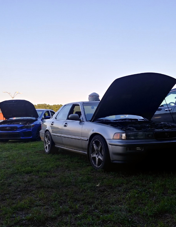 Acura Vigor VIR paddock