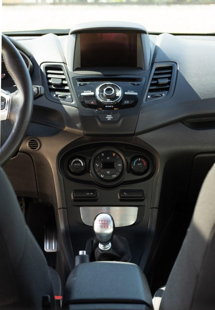Fiesta ST interior