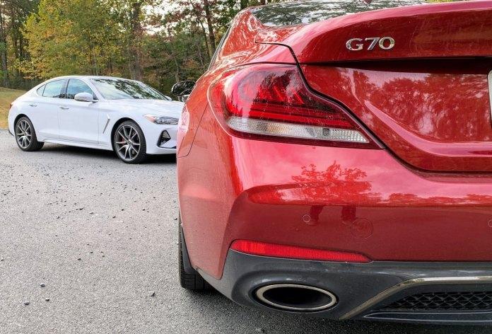 Genesis G70 rear