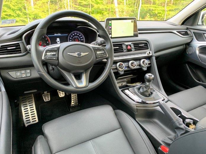 Genesis G70 2.0 interior manual