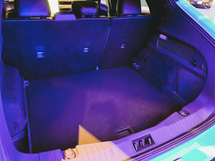 Mustang Mach-E cargo area