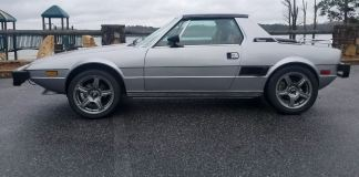 Fiat X1/9 side profile