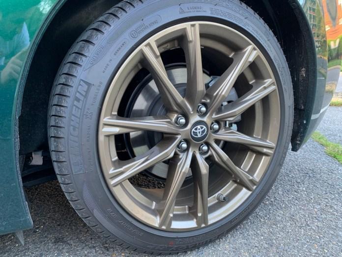 Toyota 86 Hakone wheels