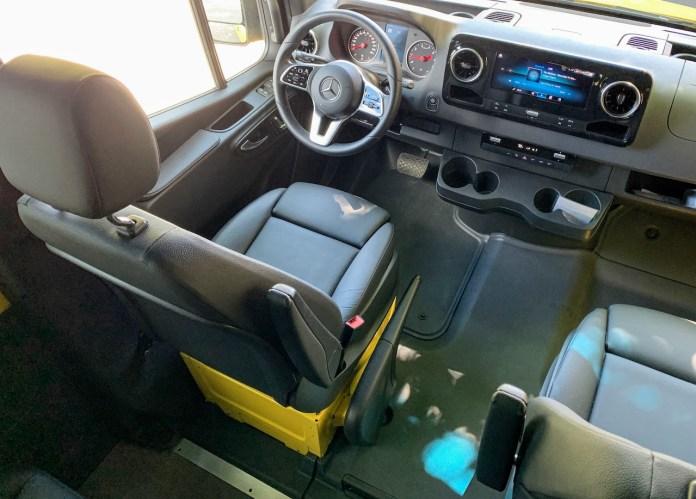 Sprinter 2500 driver seat