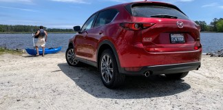 2020 Mazda CX-5 Signature rear