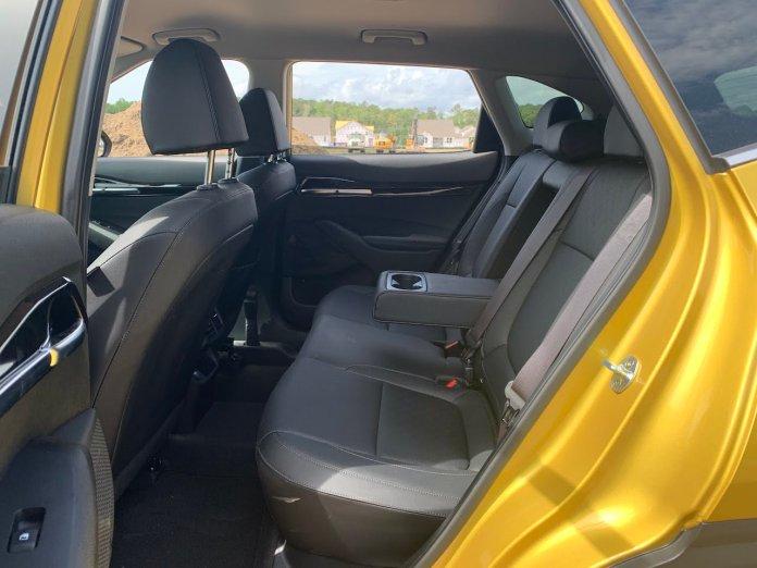 2021 Kia Seltos SX Turbo back seat