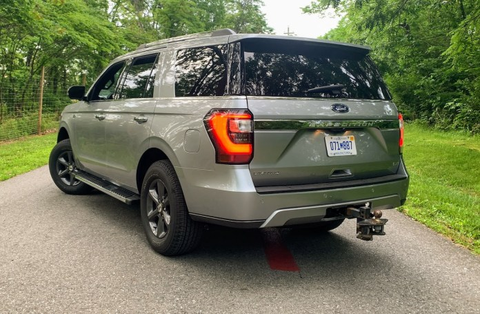 2020 Ford Expedition rear