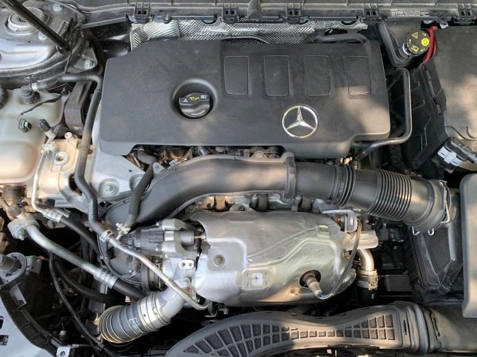 2020 mercedes benz glb250 engine