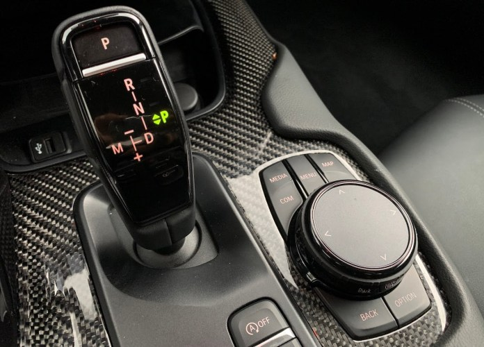 2020 Toyota Supra shifter
