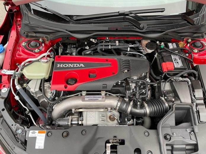 2020 Honda Civic Type-R engine