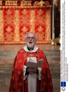 Archbishop of Canterbury slams gay marriage move