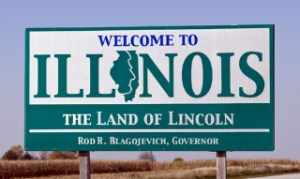 Civil partnerships legalised in Illinois