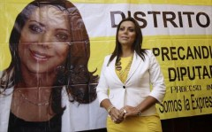 Transsexual woman hoping to win seat n Mexico City's Municipal Assembly.