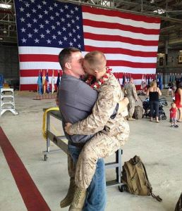 Photo of openly gay marine kissing his boyfriend goes viral