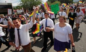 Mormons march for Pride