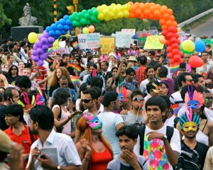 New Delhi holds gay pride