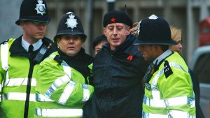Gay rights campaigner Peter Tatchell arrested in London