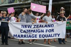 New Zealand legalises same-sex marriage