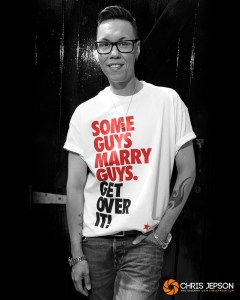 Stars celebrate equal marriage with Stonewall t-shirt campaign