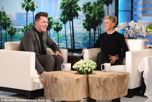 Sam Smith Talks To Ellen About Being A Spokesperson