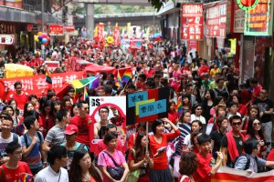 Thousands attend Hong Kong Pride