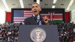 President Obama Defends LGBT Rights In Kenya