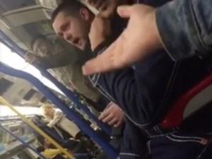 London Underground Passenger's Homophobic Rant