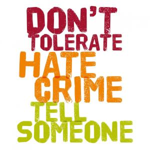 The importance of reporting incidents of hate crime