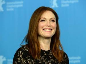 Julianne Moore Supports Gay Rights in Italy