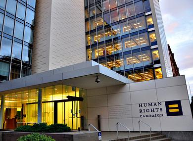 LGBT advocates at HRC Summit