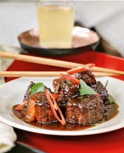 Macanese braised pork