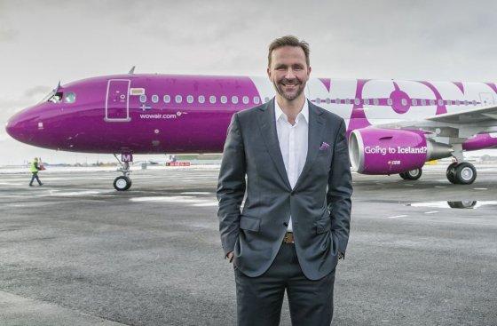 Skúli Mogensen CEO WOW air