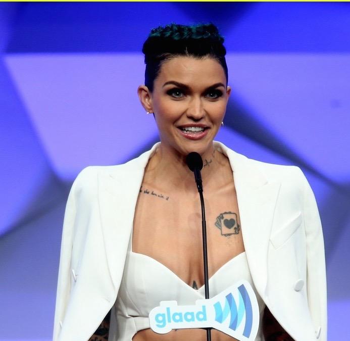 Ruby Rose GLAAD Media Awards
