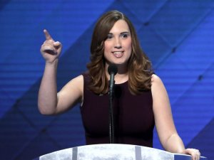 Transgender woman makes history at Democratic convention