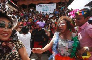 Hundreds rally for LGBT equality in Nepal