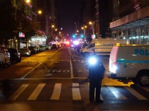 Explosion in LGBT friendly Chelsea, NYC